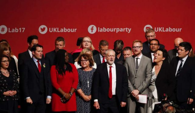 BRITAIN-BRIGHTON-LABOUR PARTY-ANNUAL CONFERENCE 2017-CLOSING by .