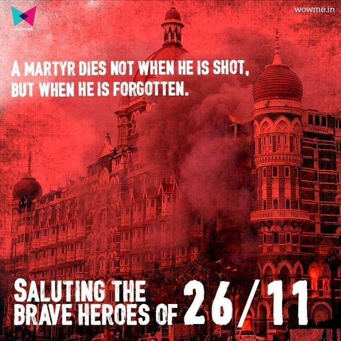 Tributes pour in for 26/11 victims on social media. by .