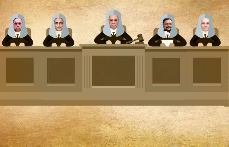 5 judges who will deliver the Ayodhya verdict. by .