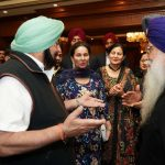 Jalandhar: Punjab Chief Minister Amarinder Singh during a meeting with a group of NRIs that came for the 550th birth anniversary celebrations of first Sikh master Guru Nanak Dev in Jalandhar on Nov 12, 2019. The CM has assured the Punjabi diaspora settled abroad that he would take up with the Chief Justice of the High Court and the Central government, the issue of setting up special courts to expeditiously settle cases of those who had been declared proclaimed offenders after fleeing Punjab during terrorism. (Photo: IANS) by .