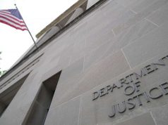 U.S. Department of Justice headquarters. (File Photo: IANS) by .