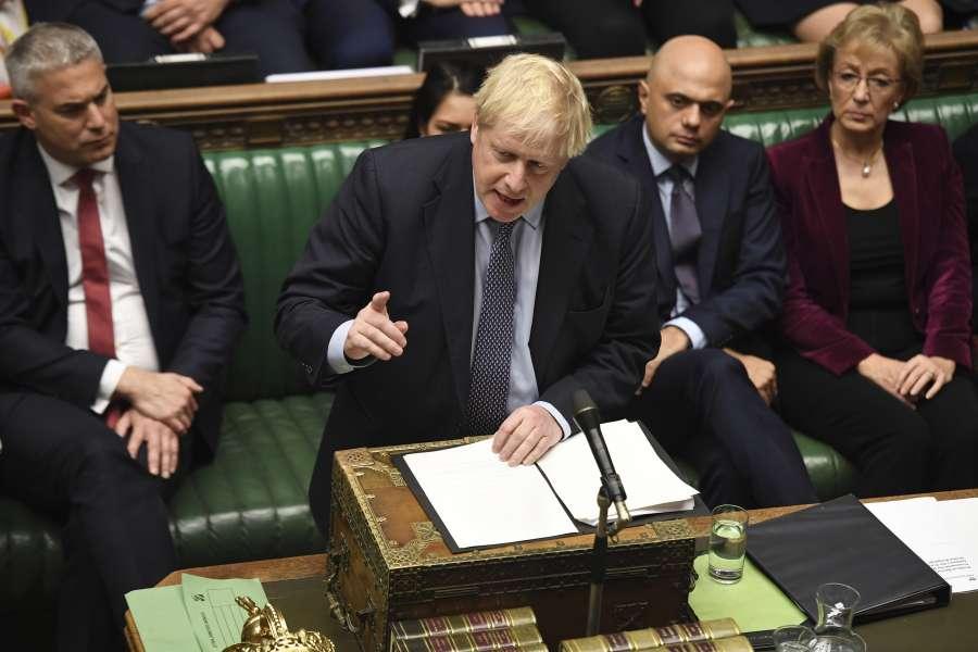 """(国际)(1)英国议会将对""""脱欧""""协议进行表决 by ."""