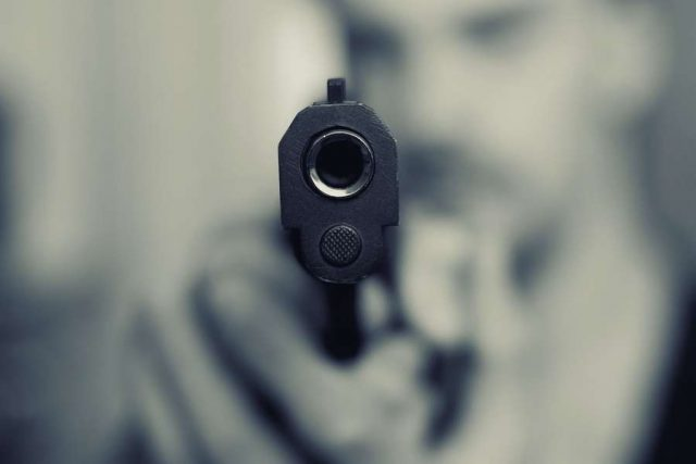 Gun point. (File Photo: IANS) by .