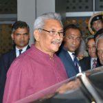 New Delhi: Newly-elected Sri Lankan President Gotabaya Rajapaksa arrives at Indira Gandhi International Airport in New Delhi on Nov 28, 2019. Also seen Union Minister General VK Singh. (Photo: IANS) by .