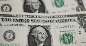 WASHINGTON, Sept. 18, 2019 (Xinhua) -- Photo taken on Sept. 18, 2019 shows U.S. dollar banknotes in Washington D.C., the United States. U.S. Federal Reserve on Wednesday lowered interest rates by 25 basis points amid growing risks and uncertainties stemming from trade tensions and a global economic slowdown, following a rate cut in July that was its first in more a decade. (Xinhua/Liu Jie/IANS) by .