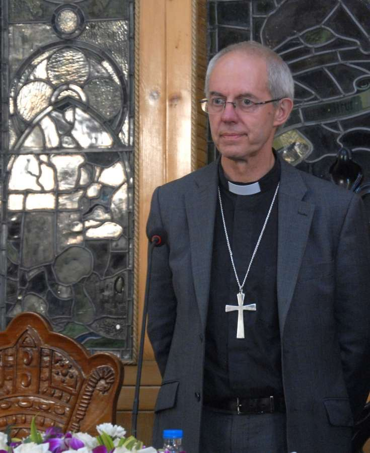 Kolkata: Archbishop of Canterbury Justin Welby during a press conference in Kolkata on Sep 8, 2019. (Photo: IANS) by .