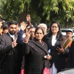 New Delhi: Parents of the December 16 gangrape victim outside the Supreme Court after the hearing of a review plea filed by one of the four men convicted in the 2012 Delhi Nirbhaya gang-rape and murder case, in New Delhi on Dec 18, 2019. The Supreme Court on Wednesday dismissed the petition of Akshay Kumar Singh, one of the four convicts on death row, seeking review of death penalty handed down to him in Nirbhaya gang-rape and murder case. (Photo: IANS) by .