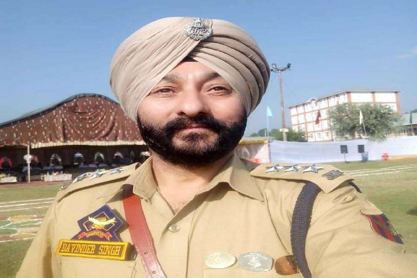 Deputy Superintendent of Police (DSP) Devinder Singh. by .