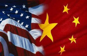 China and US. by .