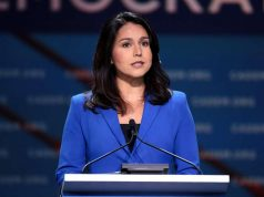 Tulsi Gabbard, who is seeking the Democratic Party nomination to challenge US President Donald Trump in next year's election. (Photo: Gage Skidmore/WikiMedia) by .