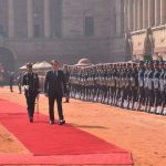 New Delhi: Brazilian President Jair Bolsonaro inspects the Guard of Honour at a Ceremonial Reception accorded to him at Rashtrapati Bhavan in New Delhi on Jan 25, 2020. (Photo: IANS/MEA) by .