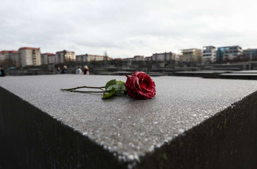GERMANY-BERLIN-MEMORIAL TO THE MURDERED JEWS OF EUROPE-INTERNATIONAL HOLOCAUST REMEMBRANCE DAY by .