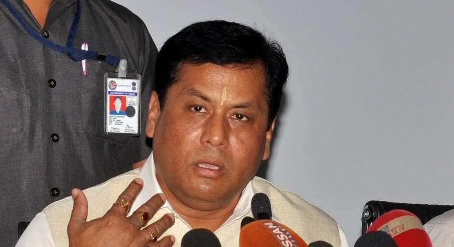 Sarbananda Sonowal. (File Photo: IANS) by .