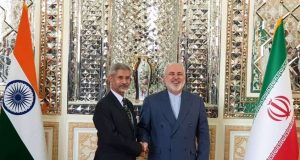New Delhi: External Affairs Minister S. Jaishankar with Iran Foreign Affairs Minister Mohammad Javad Zarif ahead of India-Iran Joint Commission Meeting in Tehran, on Dec 22, 2019. (Photo: IANS/MEA) by .