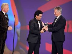 Tendulkar wins Laureus Sporting Moment Award for 2011 WC triumph by .