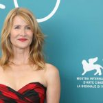 """VENICE, Aug. 29, 2019 (Xinhua) -- Actress Laura Dern attends a photocall for the film """"Marriage Story"""" during the 76th Venice International Film Festival in Venice, Italy, on Aug. 29, 2019. (Xinhua/Cheng Tingting/IANS) by ."""