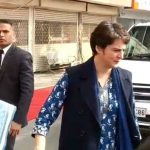 New Delhi: Congress Interim President Sonia Gandhi and General Secretary Priyanka Gandhi Vadra arrive to cast their votes for the Delhi Assembly elections 2020 at a polling booth in central Delhi's Nirman Bhawan on Feb 8, 2020. (Photo: IANS) by .
