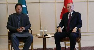 Imran and Erdogan. by .