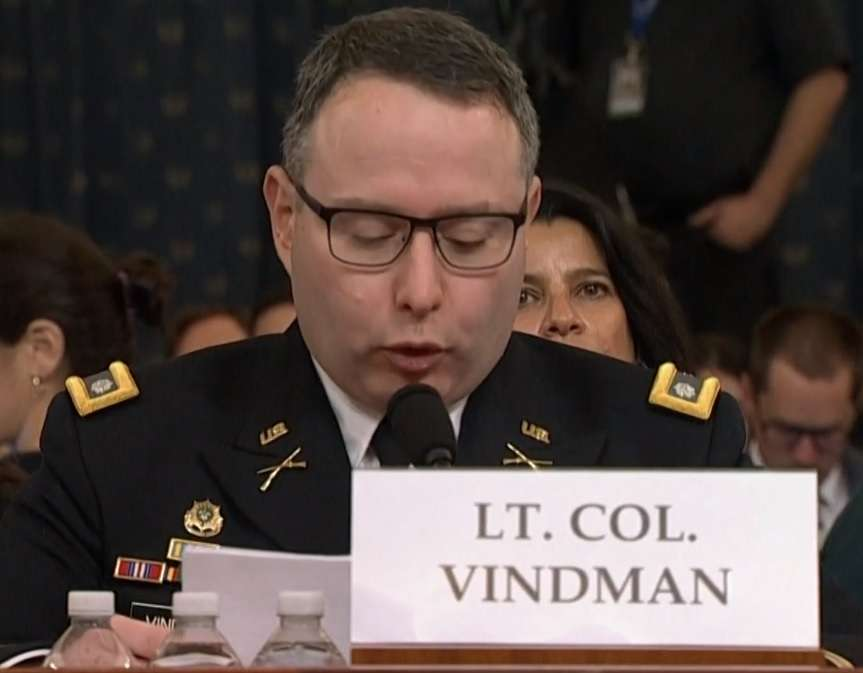 Gordon Sondland, who has been fired as United States ambassador to the European Union, testified during the impeachment inquiry against President Donald Trump. (Photo: House video) by .
