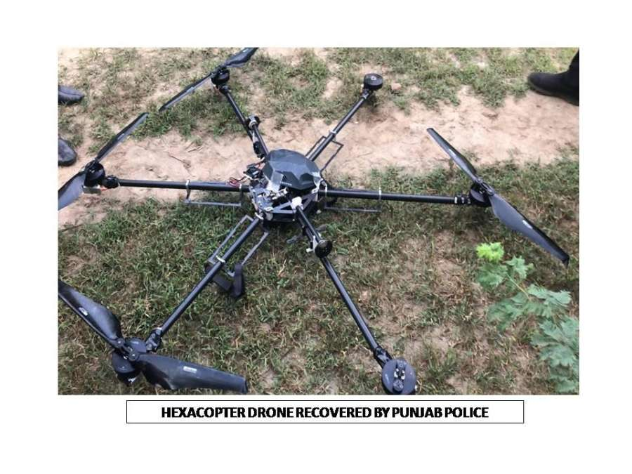 Chandigarh: Punjab Police has launched elaborate investigations to account for the weapons consignments apparently smuggled into India from across the border by the two drones recovered near the Indo-Pak border over the last around one month. (Photo: IANS) by .