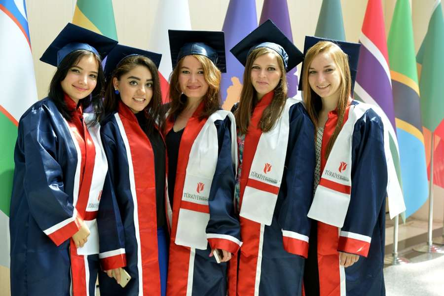 Students of Turkiye Burslari Scholarship (Turkey Government Scholarship). Turkiye Scholarships is a government-funded, competitive scholarship program, awarded to outstanding students and researchers to pursue full-time or short-term program at the top universities in Turkey. The program aims to build a network of future leaders committed to strengthening cooperation among countries and mutual understanding among societies. What makes it unique is that it's not only inclusive of financial support but also provides university placement to its awardees at all levels of higher education. by .