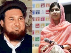 Ehsanullah Ehsan and Malala Yousafzai. by .