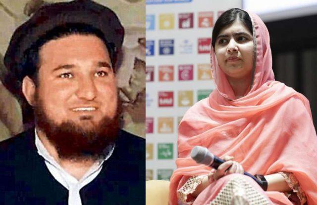 Ehsanullah Ehsan and Malala Yousafzai. by .