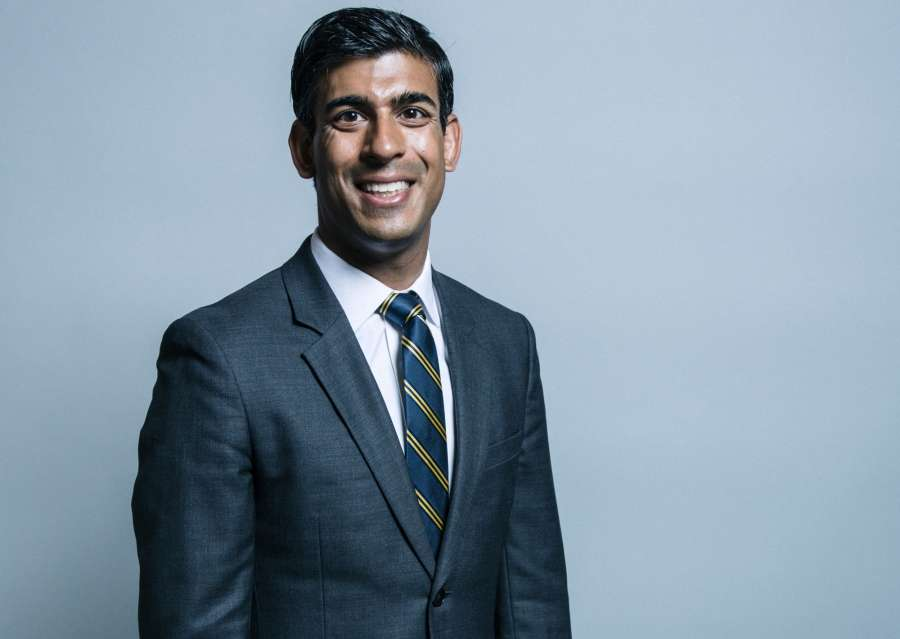 UK's new Chancellor of Exchequer Rishi Sunak. by .