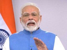 New Delhi: Prime Minister Narendra Modi addresses to the nation on novel coronavirus comes, in New Delhi on March 19, 2020. (Photo: IANS/BJP) by .