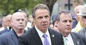 New York Governor Andrew Cuomo by .