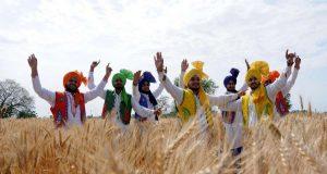 Amritsar: Baisakhi celebrations underway, in Amritsar on April 11, 2018. Baisakhi will be celebrated on April 14, 2018. (Photo: IANS) by .