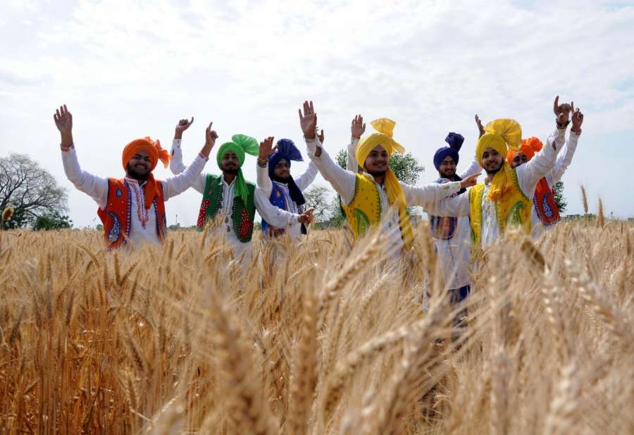 Amritsar: Baisakhi celebrations underway, in Amritsar on April 11, 2018. Baisakhi will be celebrated on April 14, 2018. (Photo: IANS) by .