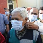 Amritsar: Factory workers wear masks before going to work, as a precautionary measure against the deadly Coronavirus, in Amritsar on March 8, 2020. (Photo: IANS) by .