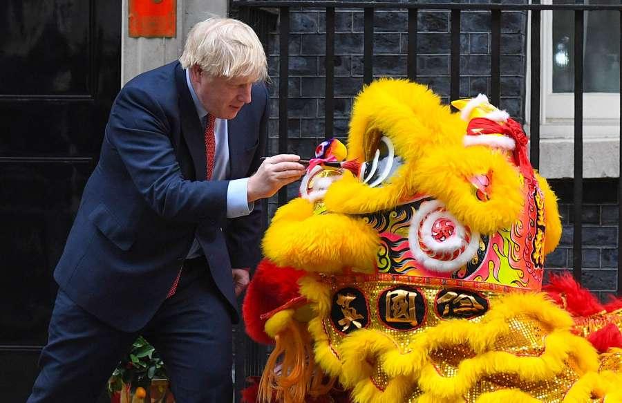 Prime Minister Boris Johnson PMQs by .