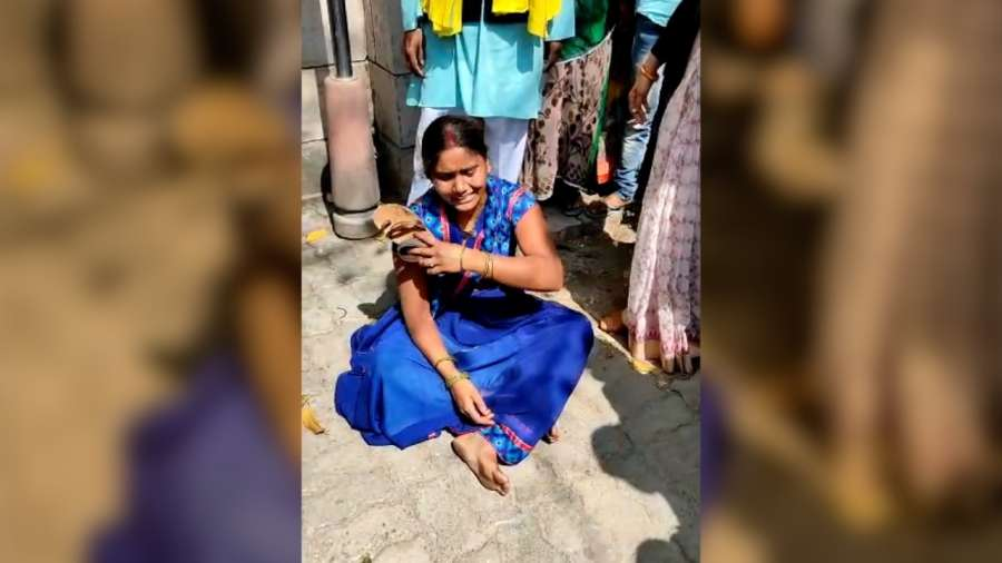 Nirbhaya case convict's wife breaks down after plea dismissed. by .