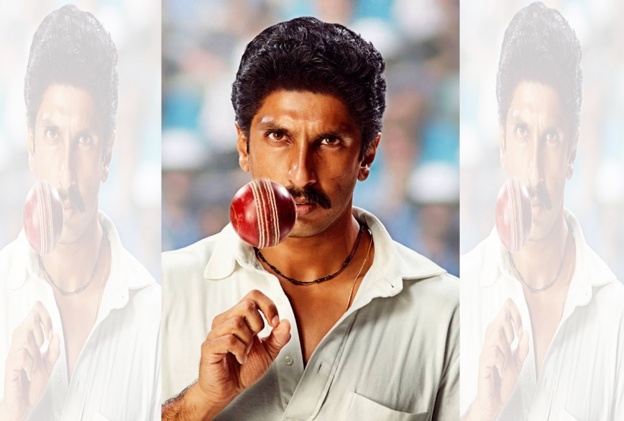 Ranveer Singh's first look as Kapil Dev from his upcoming ...