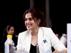 New Delhi: Pune 7 Aces Co-founder Taapsee Pannu during the PBL season 5 auction. by .