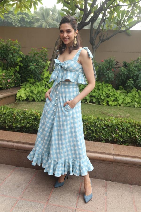 "Mumbai: Actress Deepika Padukone during the promotions of her upcoming film ""Chhapaak"" in Mumbai on Dec 21, 2019. (Photo: IANS) by ."