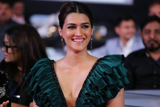 Actress Kriti Sanon at the Zee Cine Awards 2020. by .