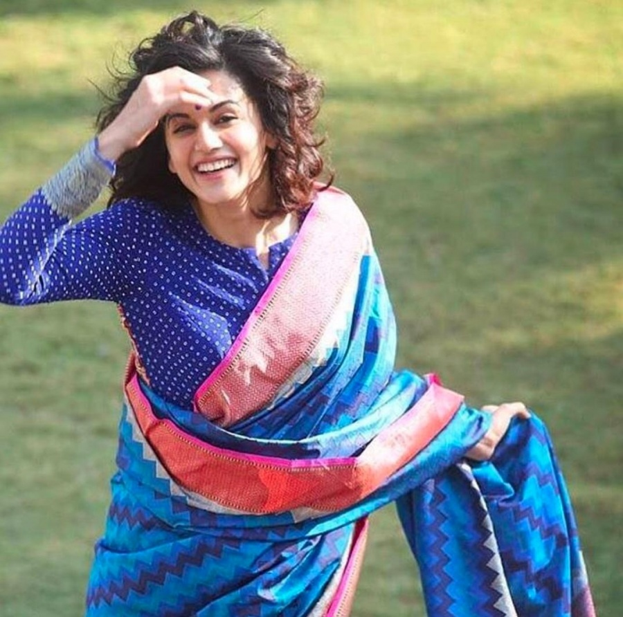 Taapsee Pannu recalls the day she accepted her flaws. by .