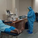 Tablighi Jamaat people donate blood plasma to other corona patients. by .