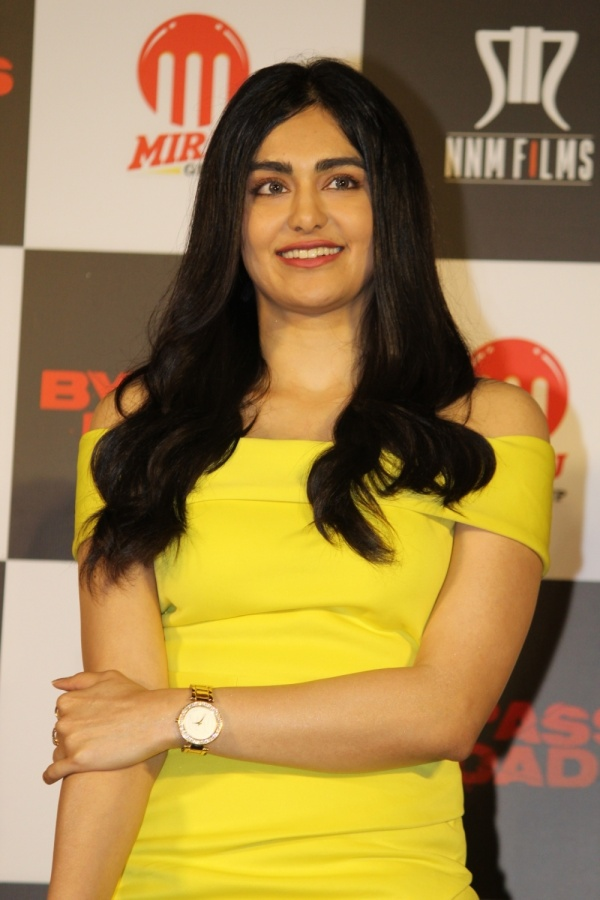 """Mumbai: Actress Adah Sharma addresses at the trailer launch of her upcoming film """"Bypass Road"""" in Mumbai on Sep 30, 2019. (Photo: IANS) by ."""