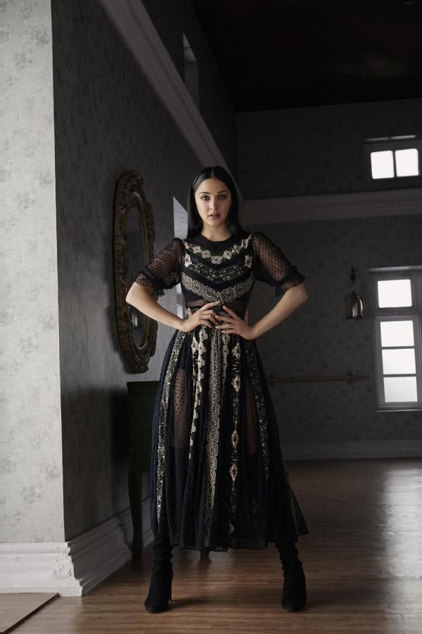 Kiara Advani for Label Ritu Kumar. by .