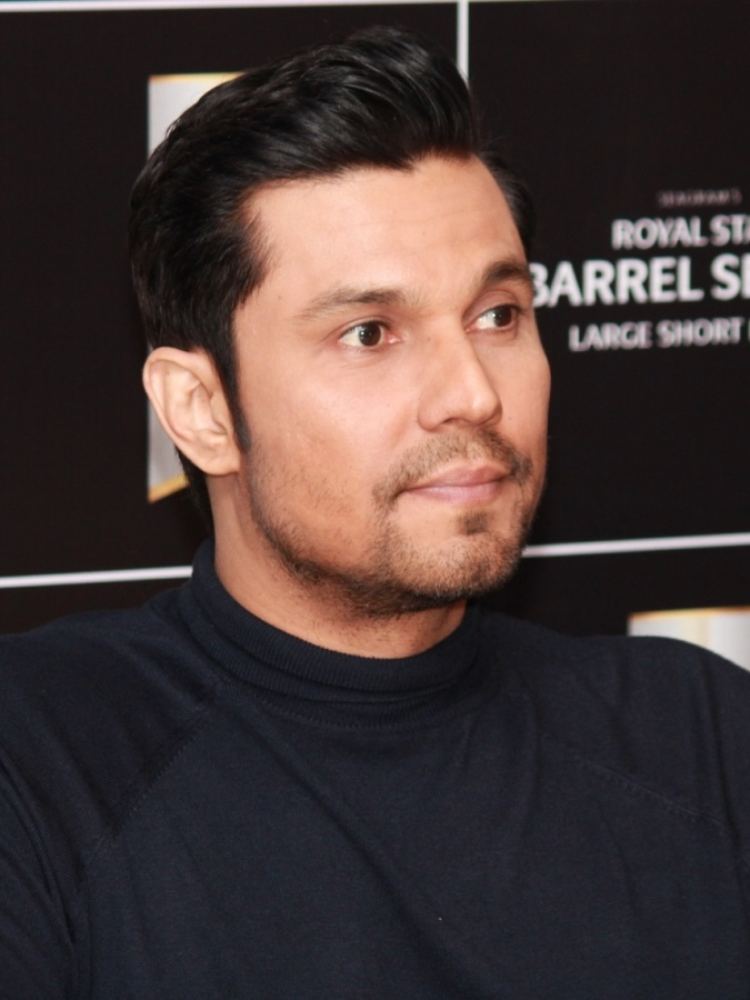 New Delhi: Actor Randeep Hooda during a 'Meet and Greet' session organised by Royal Stag Barrel Select Large Short Films in New Delhi on Dec 14, 2019. (Photo: Amlan Paliwal/IANS) by .