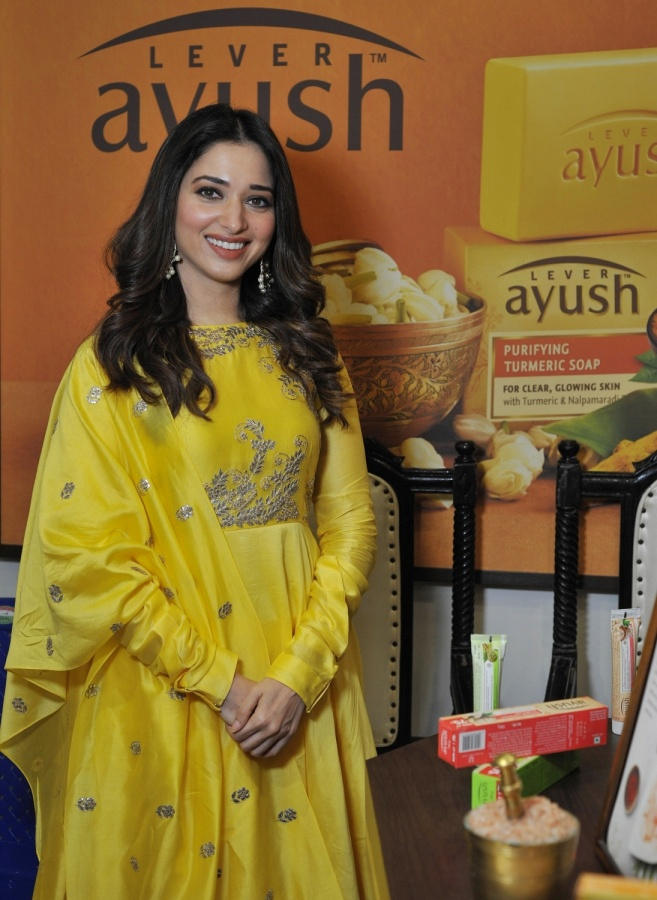 Bengaluru: Actress Tamannaah Bhatia during the launch of a store in Bengaluru, on April 24, 2019. (Photo: IANS) by .