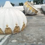 8 domes of shrines in Kartarpur collapse. by .