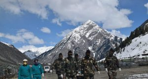 Dawar Army Camp of Snow Leopard Brigade airlifted a pregnant lady stranded at Dawar for last four days. Presently, the Gurez Valley is cut off from the rest of the Kashmir Valley due to high snow levels at Razdan Pass. On Apr 1, 2020 Dawar Army Camp of Snow Leopard Brigade received a requisition from civil administration for evacuation of Zytoona Begum, resident of Satni Village located very close to the Line of Control who had been critically ill. She was a case of Molar Pregnancy with excessive bleeding resulting in low Haemoglobin and needed urgent surgery. Soldiers of Snow Leopard Brigade activated the Gurez Helipad at short notice and the critically ill patient was continuously monitored before she could be evacuated by helicopter. She is presently undergoing treatment at Lal Ded Hospital at Srinagar. by .