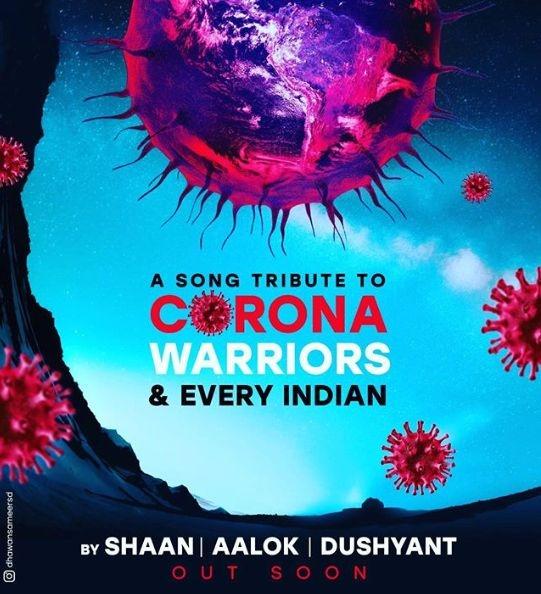 Shaan's Upcoming Song On 'corona Warriors'
