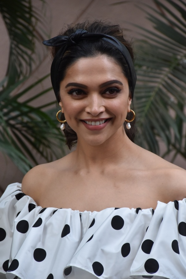 """Mumbai: Actress Deepika Padukone arrives at a movie theater to see the reaction of movie goers on her film """"Chhapaak"""", in Mumbai on Jan 16, 2020. (Photo: IANS) by ."""