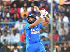 Bengaluru: India's Rohit Sharma in action during the third and final ODI match between India and Australia, at M. Chinnaswamy Stadium in Bengaluru on Jan 19, 2020. (Photo: IANS) by .
